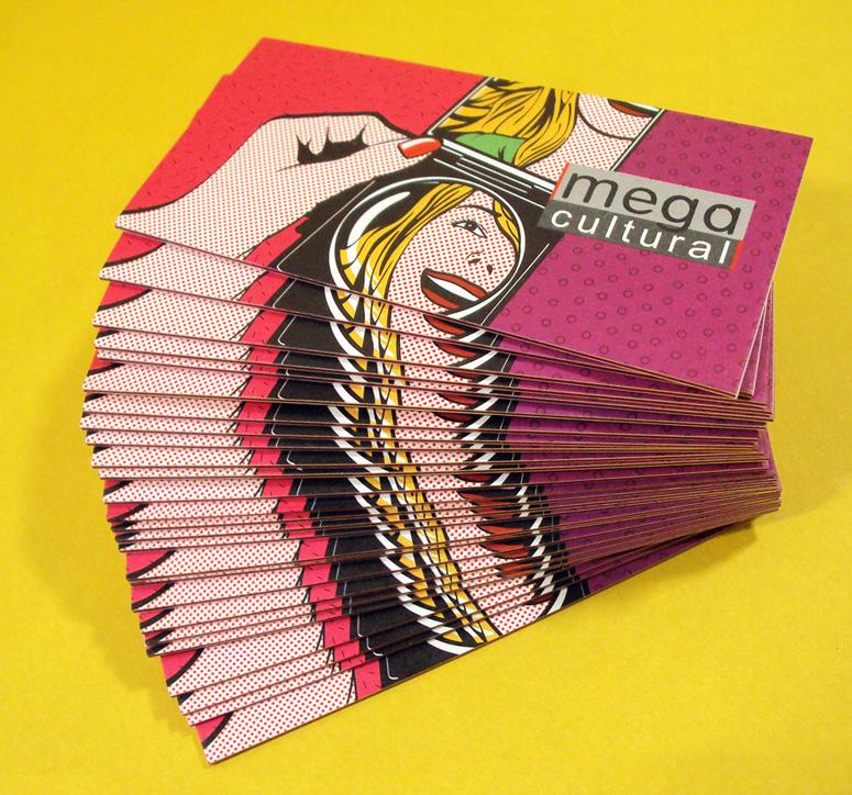 Mega Cultural Business Card