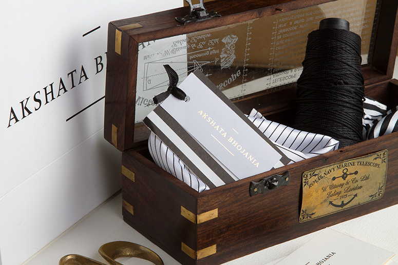 Menswear Stationery Collaterals