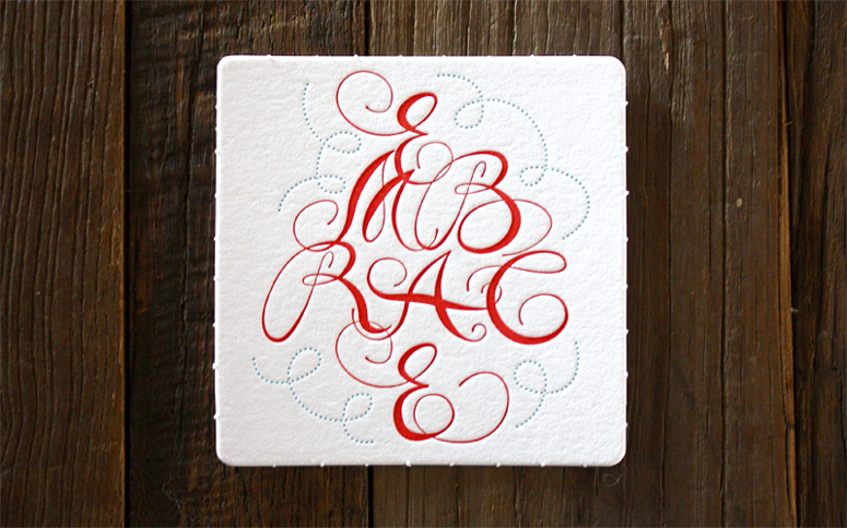 Miles Design 2013 Holiday Coaster Set