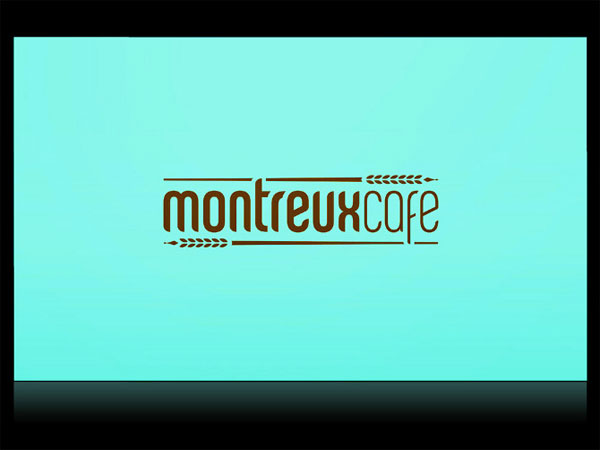 Montreux Cafe Identity System