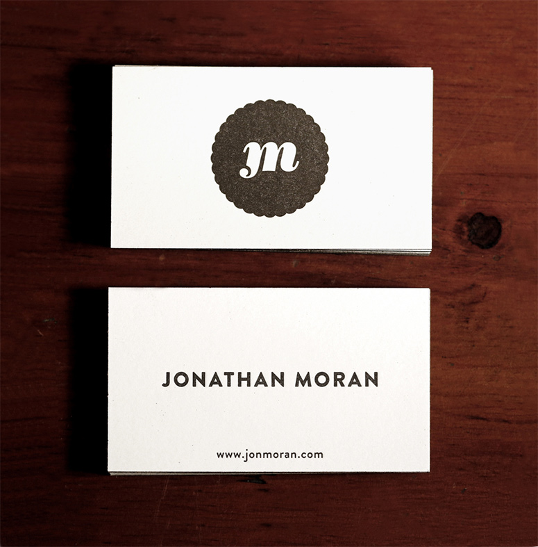 Jonathan Moran Business Card