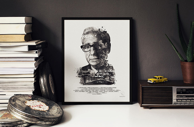 Movie Director Portrait Prints