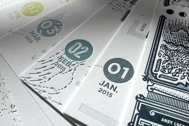 Fabien Barral 2015 Calendar