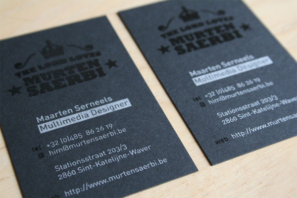 Murten Saerbi Business Cards