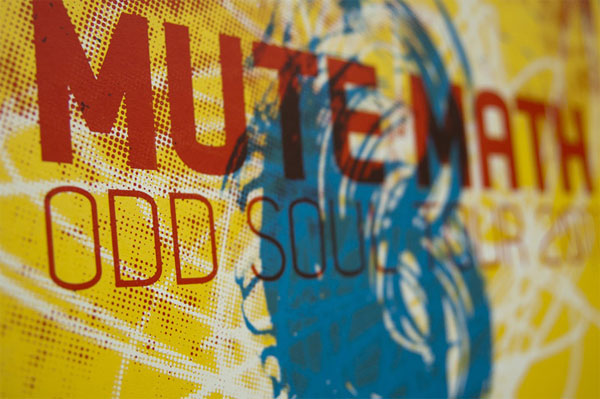 Mute Math Gig Poster