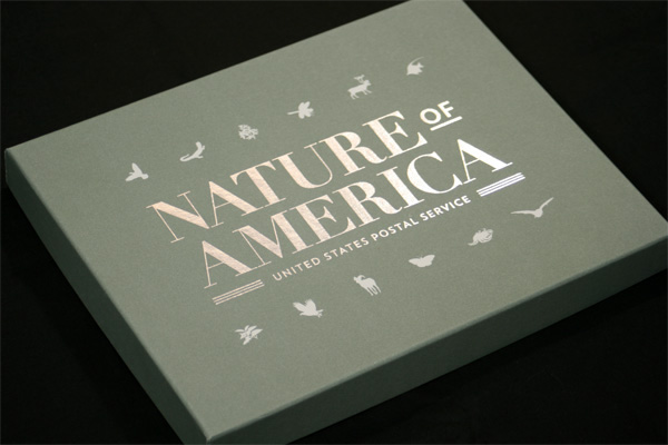 Nature of America Stamp Series Limited Edition Collector's Set