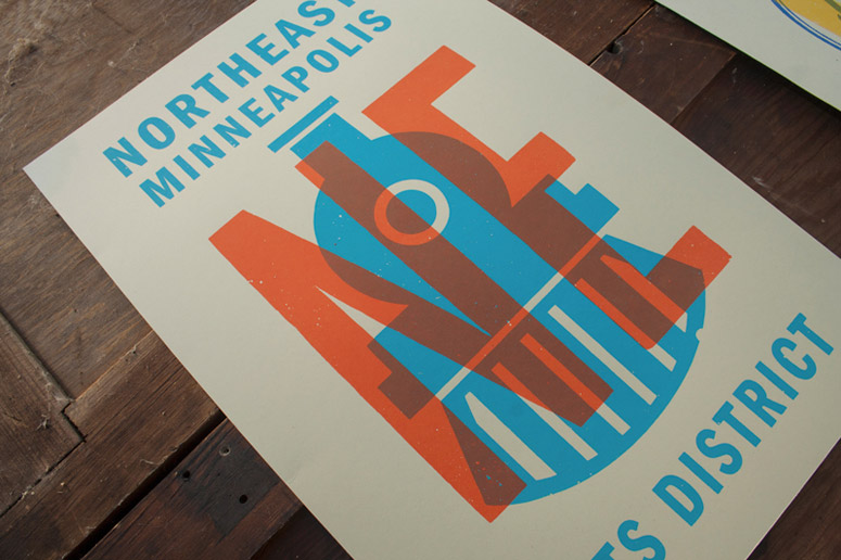 Northeast Minneapolis Arts District Posters