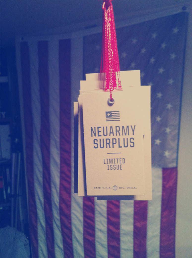 Neuarmy Surplus Limited Issue T-shirt