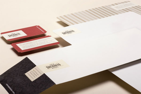 New Sheridan Hotel Brand Collateral