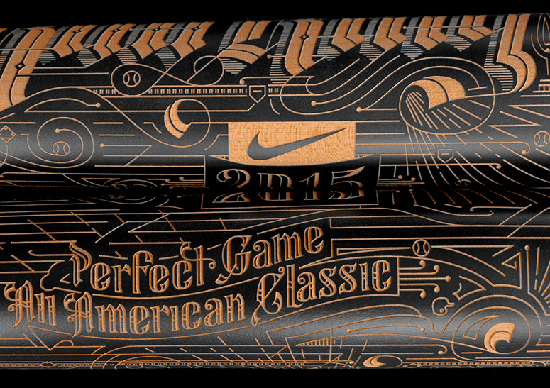 Nike Home Run King Bat Trophy