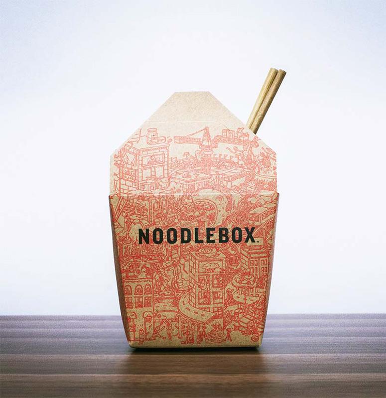Noodlebox Packaging