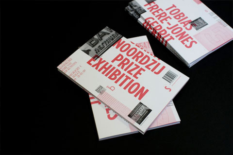 Gerrit Noordzij prize exhibition catalogue