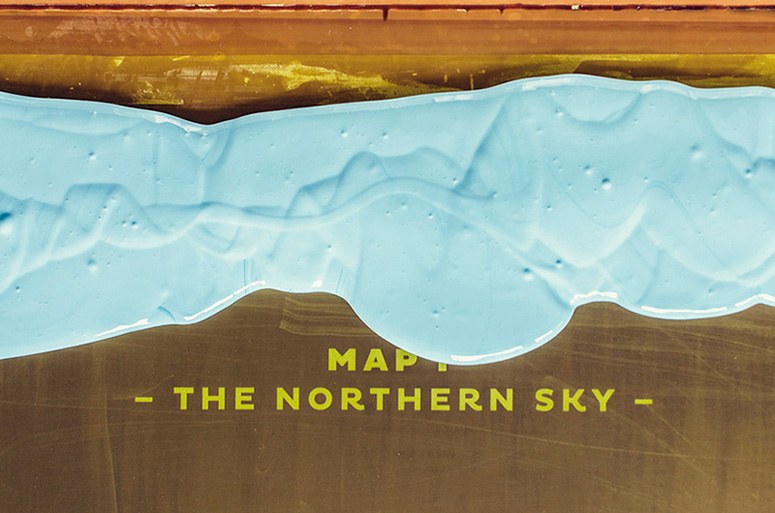 Northern Sky Poster