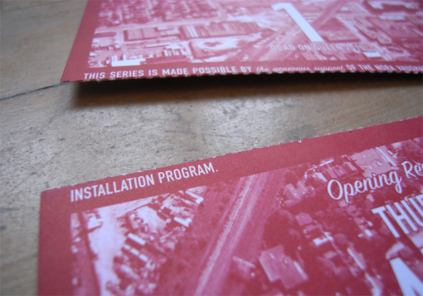 OCAD Event Postcard(s)