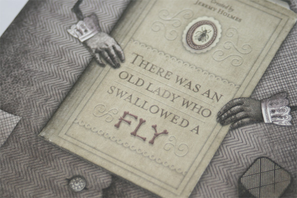 <em />There Was An Old Lady Who Swallowed A Fly</em> Book