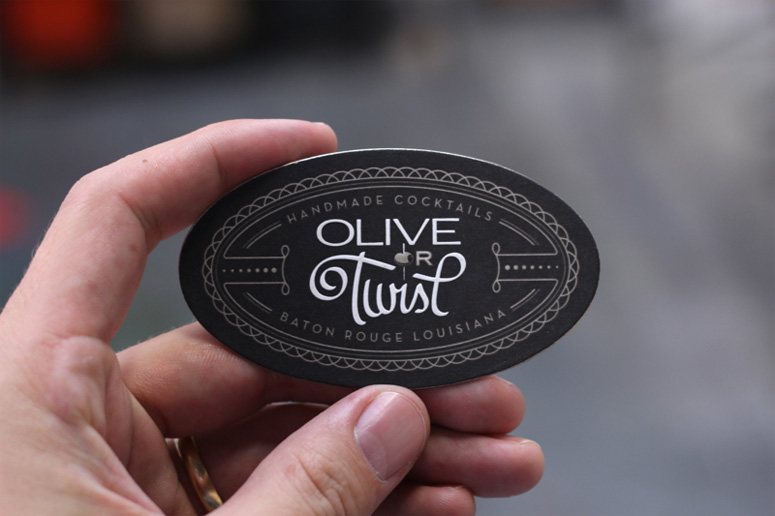 Fpo Olive Or Twist Business Cards