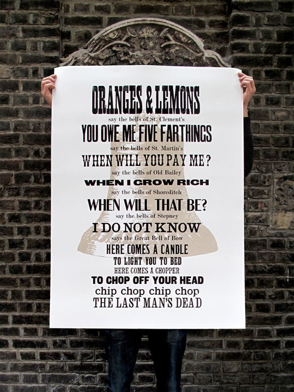 Oranges and Lemons Poster