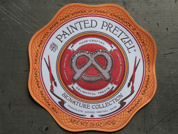 The Painted Pretzel Packaging