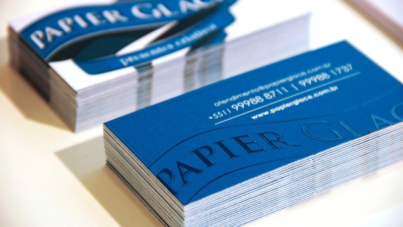Papier Glacé Visual Identity