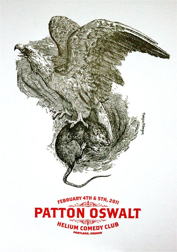 Patton Oswalt Poster