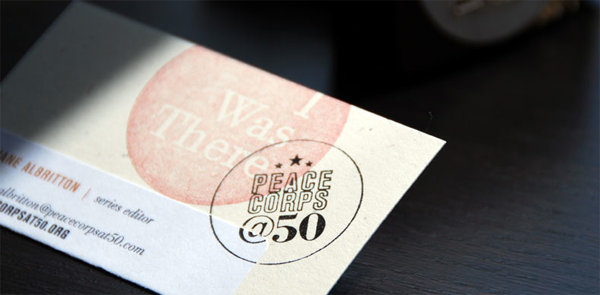 Peace Corps at 50 Identity Materials