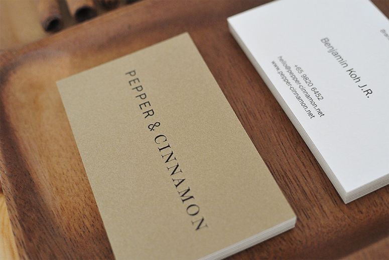 Pepper & Cinnamon Identity Materials