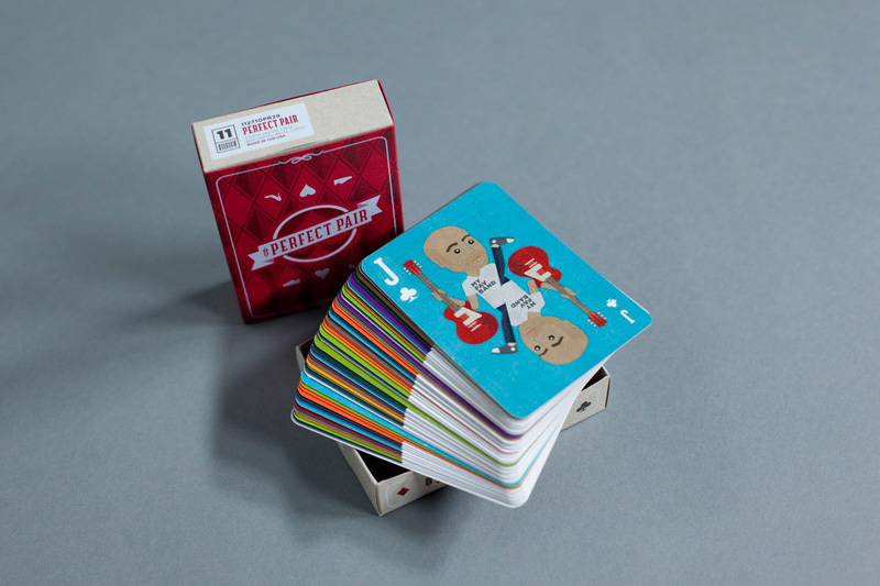 The Perfect Pair Playing Cards