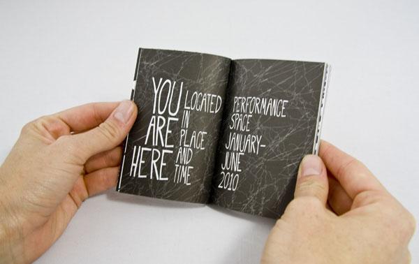 Performance Space Season Brochure