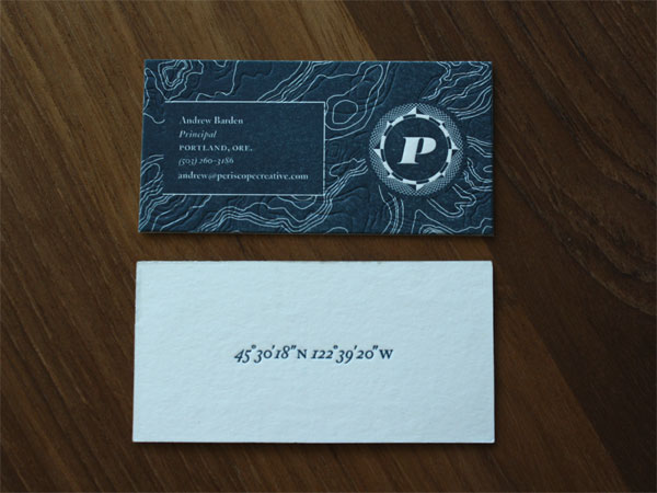 Periscope Business Cards