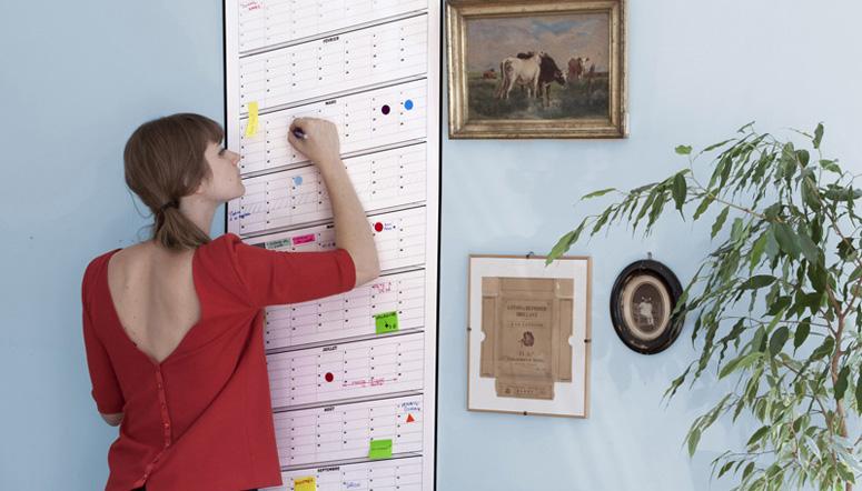 Papier Tigre Perpetual Wall Calendars