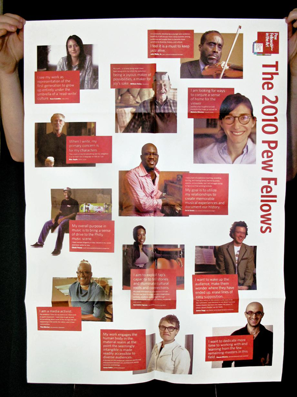 Pew Fellowship in the Arts Poster