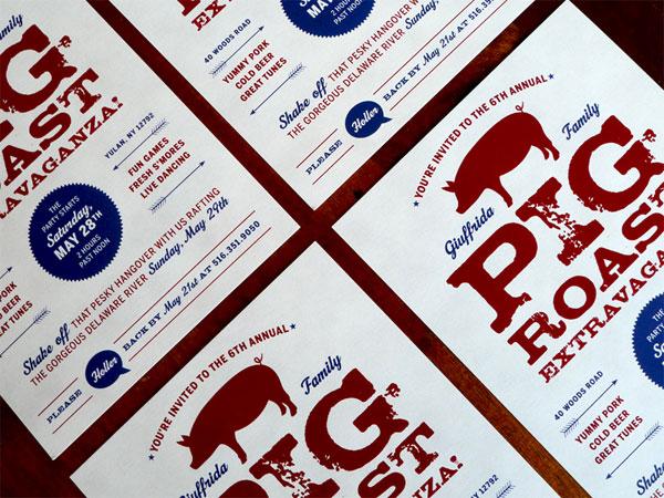 FPO: Pig Roast Invitation