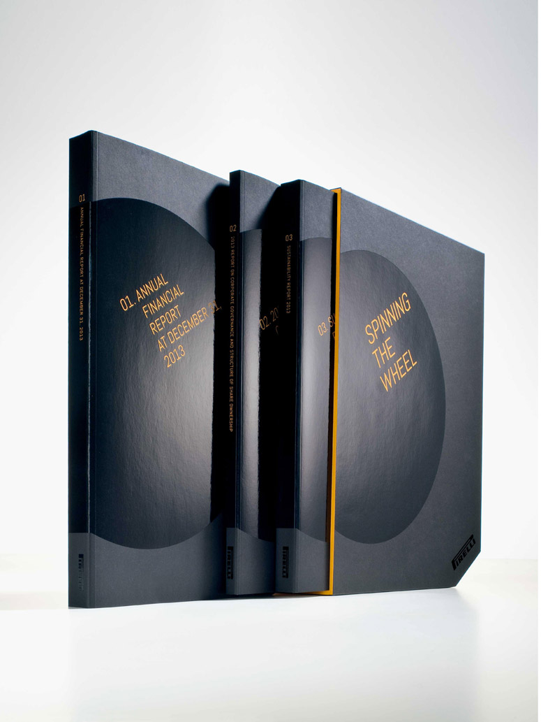 Pirelli 2013 Annual Report by Cacao Design