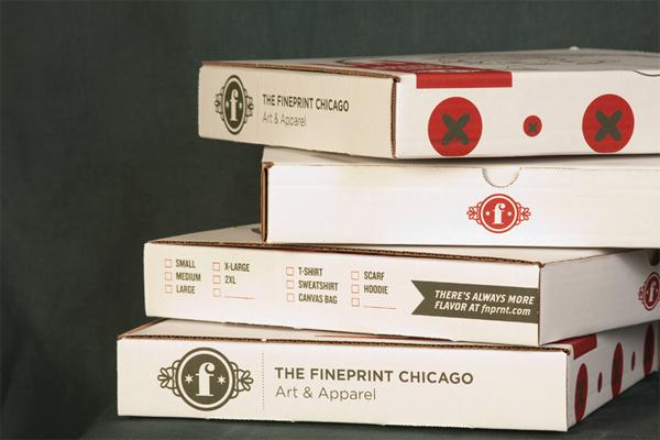 Laurent Varlet Pizza Box T-Shirt Packaging