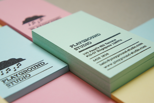 Playground Studio Business Card and Letterhead