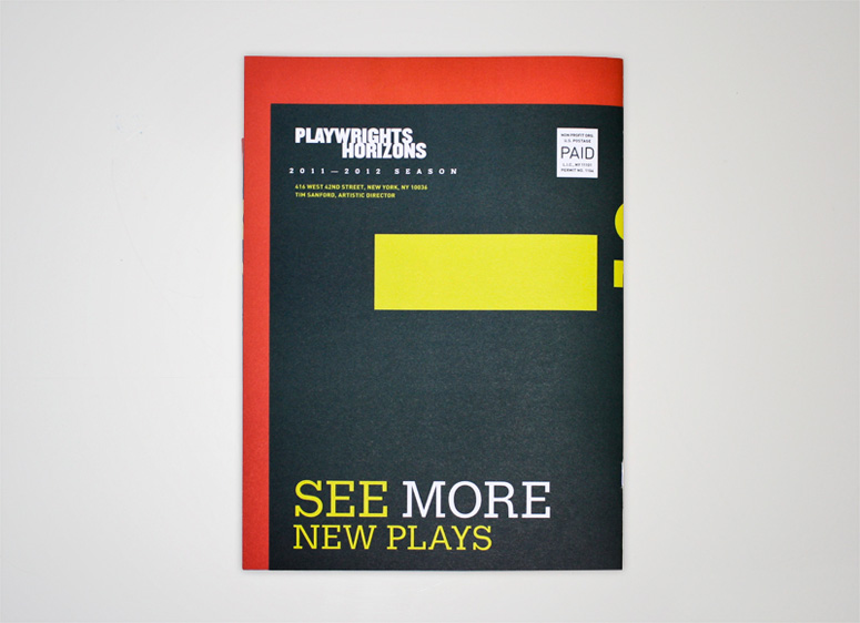 Playwrights Horizons Program
