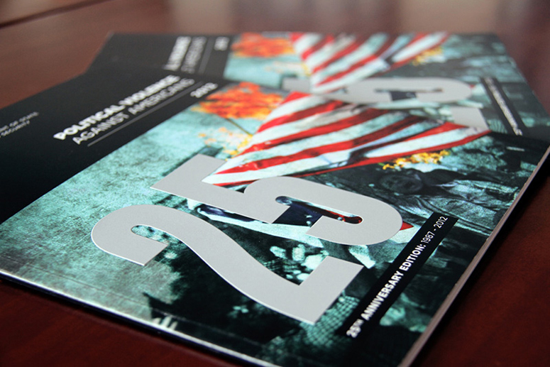 Political Violence Against Americans Anniversary Edition Brochure