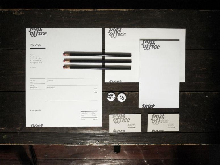 Studio Post Office Stationary
