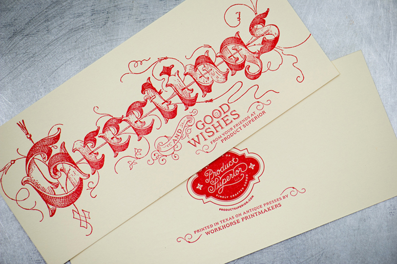 Product Superior Holiday Card