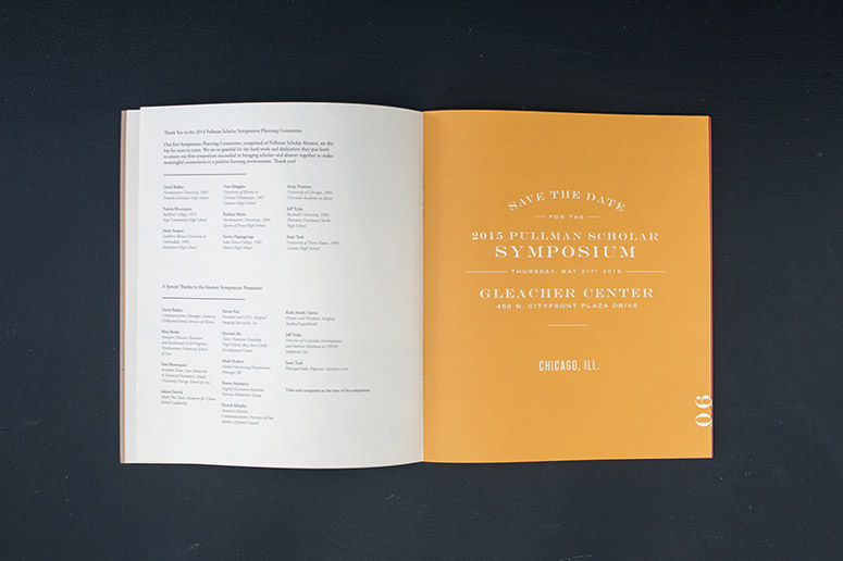 2014 George M. Pullman Foundation Annual Report