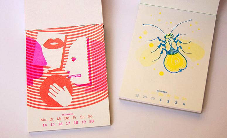 Puzzle Calendar 2015