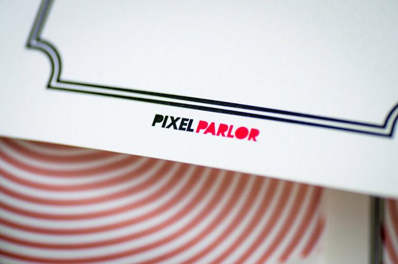 Pixel Parlor 2015 Valentine's Card