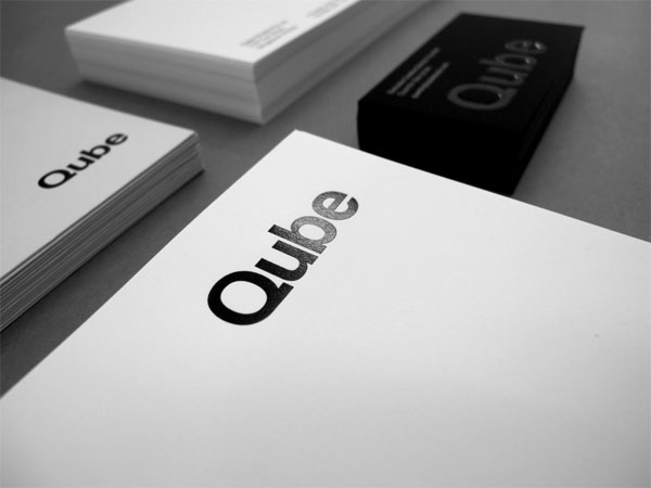 Qube Studio Business Card