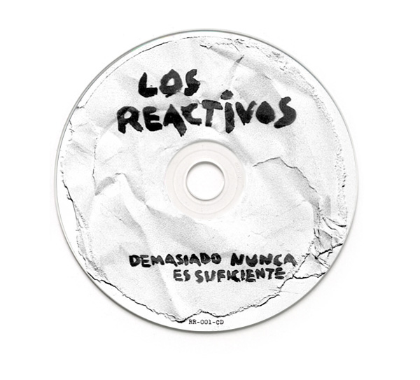 Los Reactivos CD Packaging