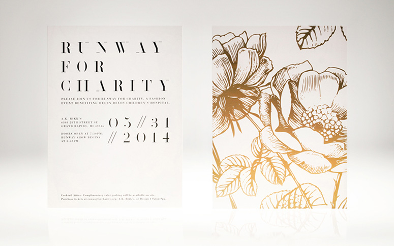 Runway for Charity Invitation