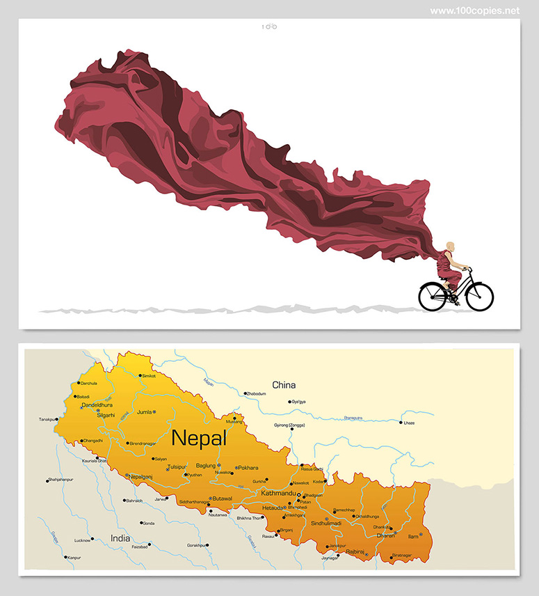 Ride On, Nepal (Fundraising Print)