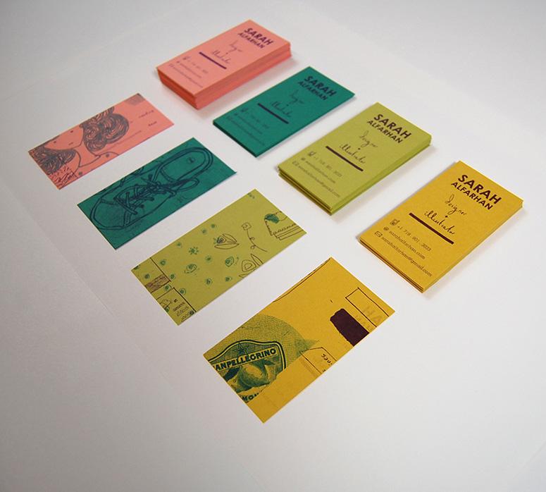 FPO: Sarah Alfarhan Business Cards