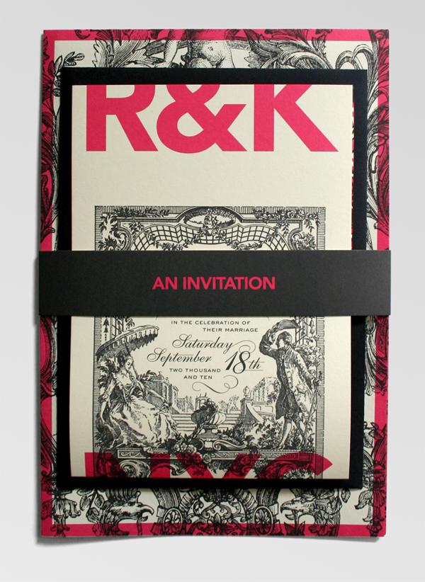 Richelle and Ken Wedding Invitation
