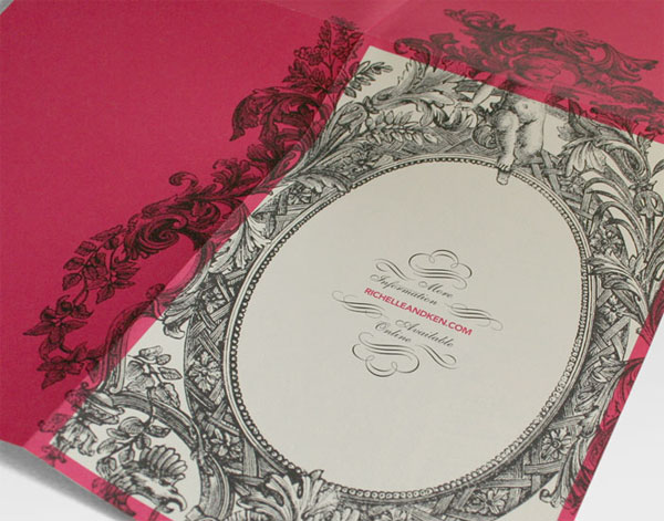 Richelle and Ken Wedding Invitation