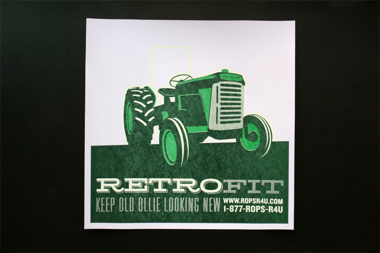 ROPS Tractor Posters
